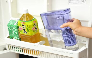 冷蔵庫にも楽々保管できます